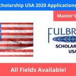 Fulbright Scholarship USA 2020