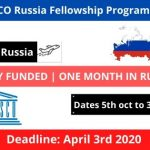 UNESCO Russia Fellowship Program