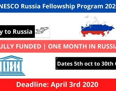 UNESCO Russia Fellowship Program