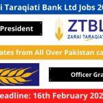 Zarai Taraqiati Bank Ltd Jobs 2020