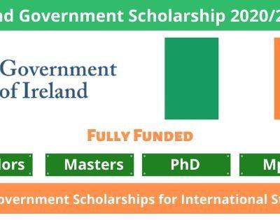 Ireland Government Scholarship 2020