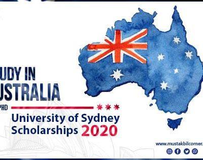 University of Sydney Scholarship 2020