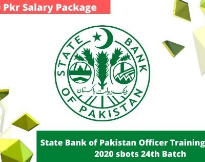 State Bank of Pakistan Officer Training Scheme