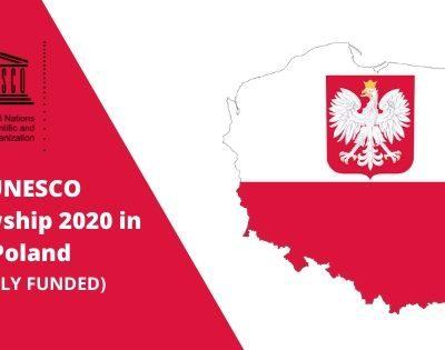 UNESCO Fellowship 2020