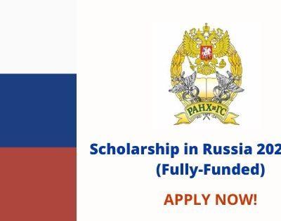 Scholarship in Russia 2020