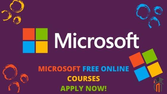 Microsoft Free Online Courses 2020