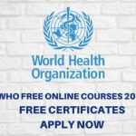 WHO Free Online Courses 2020