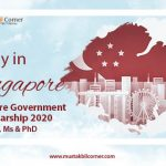 Singapore Government Scholarships 2020