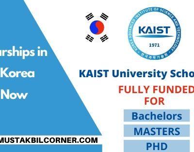 KAIST University Scholarship 2020