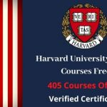 Harvard University Online Courses 2020
