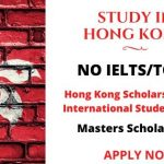 Hong Kong Scholarships for International Students 2020