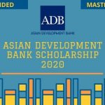 Asian Development Bank Scholarship 2020