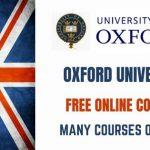 Oxford University Online Courses