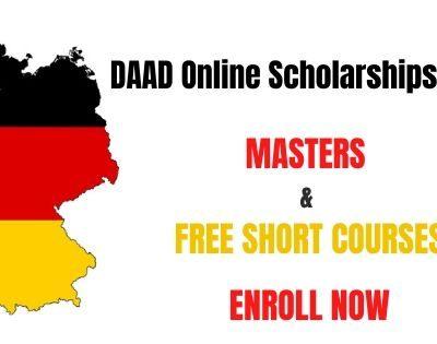 DAAD Online Scholarships 2020