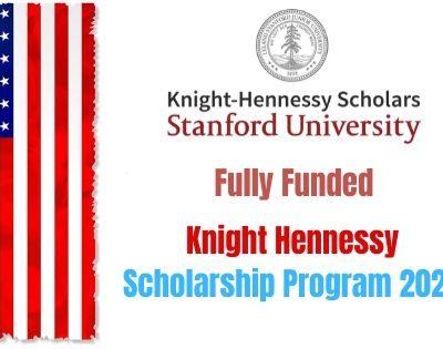Knight Hennessy Scholarship Program 2020
