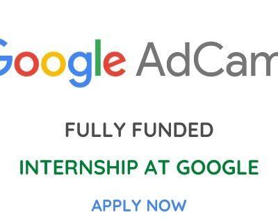 Google AdCamp Internship 2020