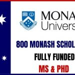 Monash University Scholarships 2021