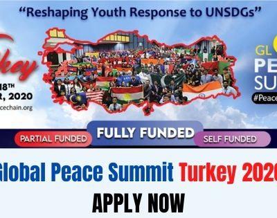 Global Peace Summit Turkey 2020