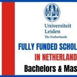 Leiden University Scholarships 2020