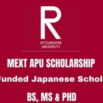 MEXT Asia Pacific University Japanese Scholarship