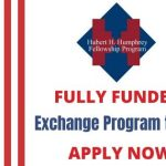 Hubert H. Humphrey Fellowship 2021