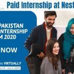 Nestle Pakistan Internship 2020