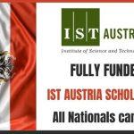 IST Austria Scholarship 2021