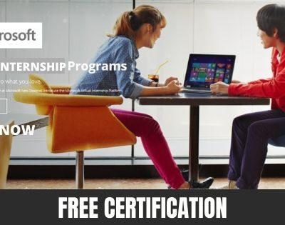Microsoft Virtual Internship 2020