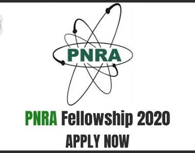 PNRA Fellowship 2020