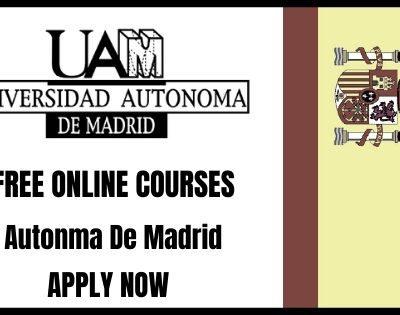 Autonomous University of Madrid Online Courses
