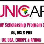 UNICAF Scholarship Program 2020
