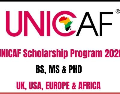 UNICAF Scholarship Program 2020
