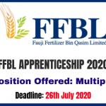 FFBL Apprenticeship 2020