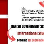 Danish Government Scholarships 2021