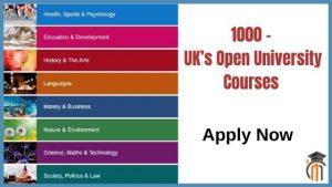 Uk's Open University Courses