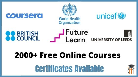 2000+ Free Online Courses