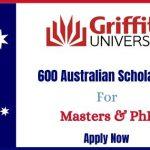 600 Australian Scholarships