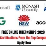 Free Online Internships 2020