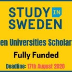 Scholarships in Sweden 2021