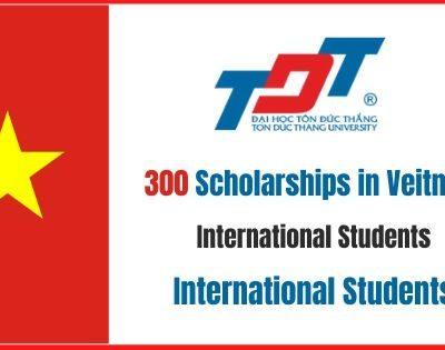 300 Scholarships in Vietnam
