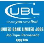 UBL Jobs 2020