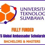 UTS Global Ambassador Scholarship 2020
