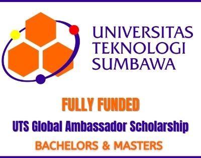 UTS Global Ambassador Scholarship 2020
