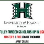 University of Hawaii Scholarships 2021