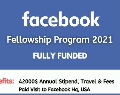 Facebook Fellowship 2021