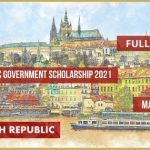 Czech Republic Government Scholarship 2021