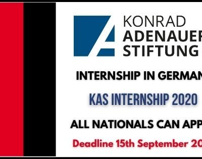 Internship in Germany 2021