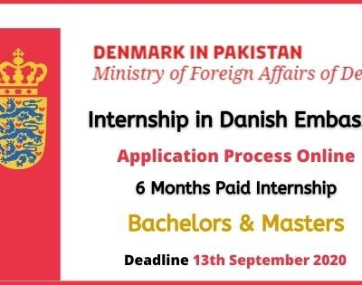 Royal Danish Embassy Internship 2020