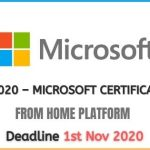 Microsoft Learning Program 2020