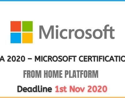 Microsoft Learning Program 2020